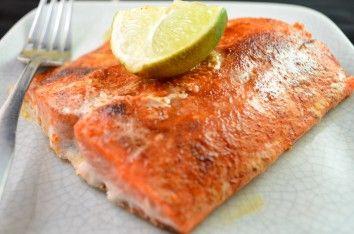 Lenten Friday Dinner Plan: CHIPOTLE LIME SALMON Makes dinner for two ...