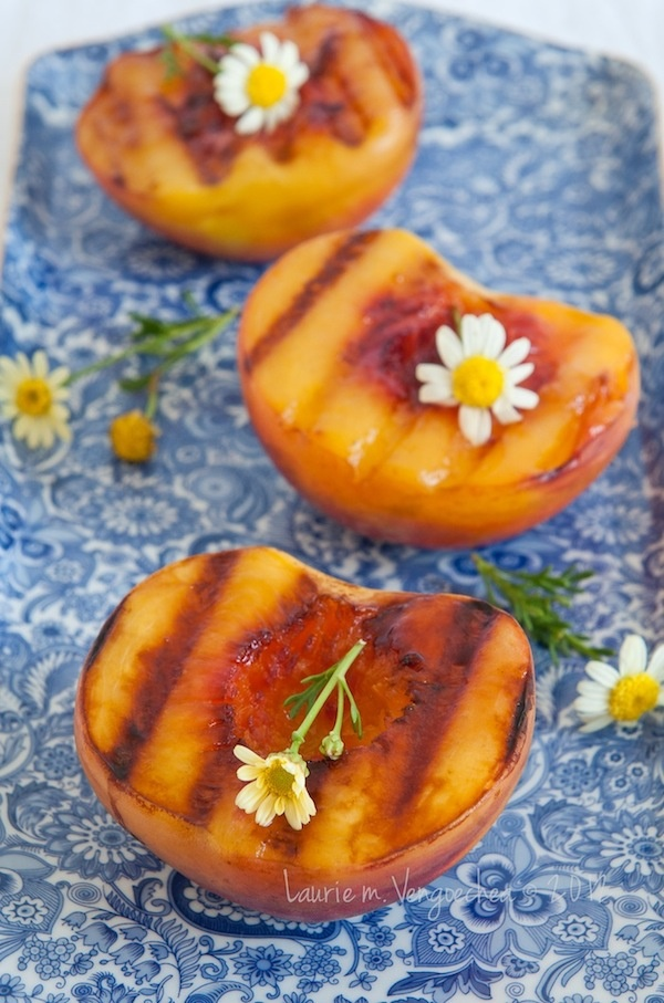 Grilled Peaches | Dessert | Pinterest
