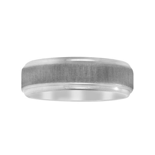 Fred Meyer Jewelers | Men's 7mm Satin Finished Wedding Band wedding ...