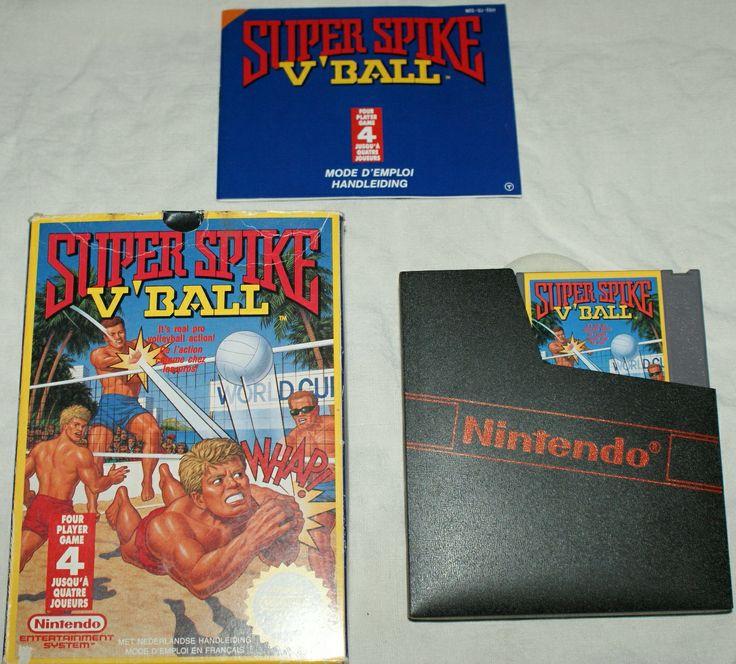 Super Spike V' Ball (NES)