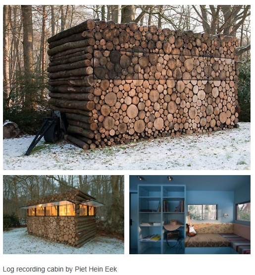 Cool Idea Log Cabin Hide Away