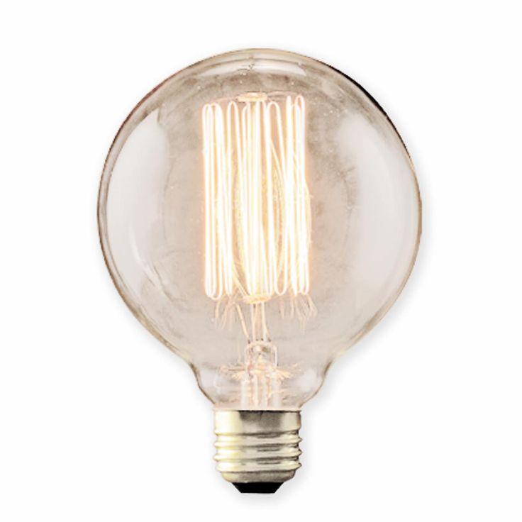 40 watt e26 g30 vintage globe edison bulb. Black Bedroom Furniture Sets. Home Design Ideas