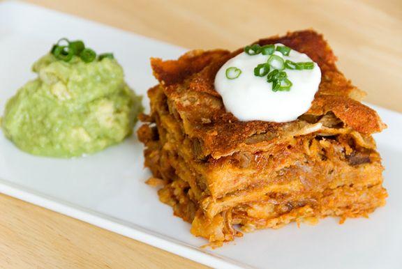 stacked enchiladas: brilliant, usually eat leftover enchiladas lasagna ...