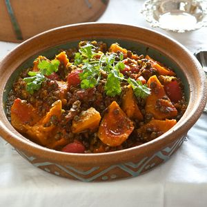 Reader recipe: Chicken tagine with green olives and preserved lemon