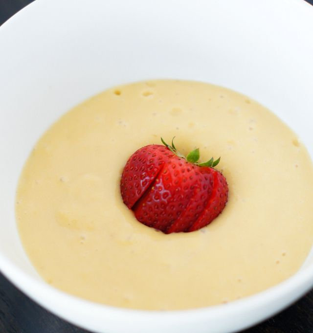 Chilled peach soup. | Food = Soup-a-licious | Pinterest