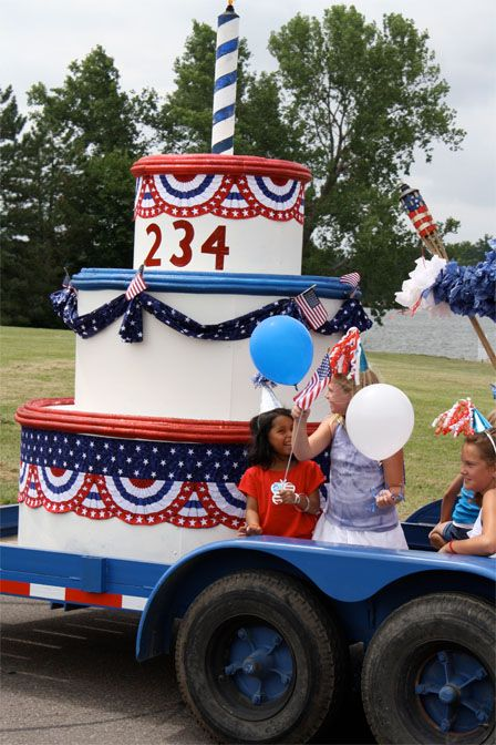 4th july parade float decorations
