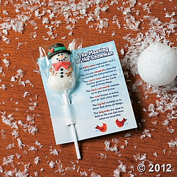 "Meaning of the Snowman Poem: ""The white snow represents God's ..."