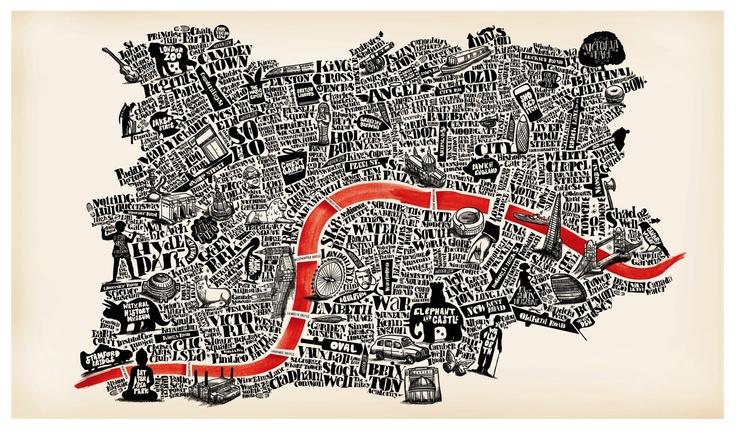 London type poster | Basic forms 3 | Pinterest: pinterest.com/pin/418553359090669436