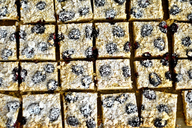 Blackberry Almond Shortbread | Recipes I Wanna Try | Pinterest
