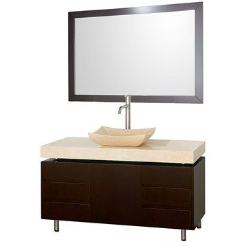 Bathroom Vanity on 48  Bathroom Vanity Set By Wyndham Collection       Bathroom I