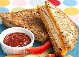Apple, Turkey and Cheddar Grillers #sandwich #recipe #lunch