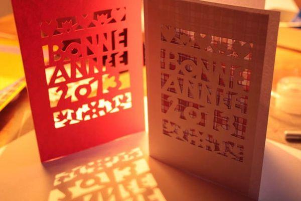 Carte De Voeux Faire Soi M Me Creative Happy New