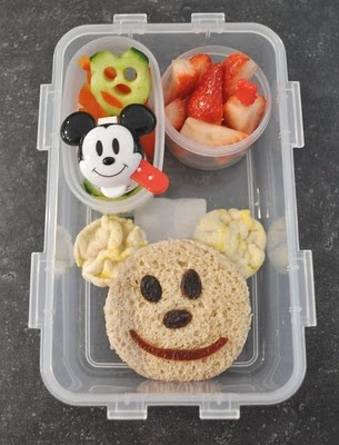 Mickey Mouse Bento | MICKEY LOVE YOU | Pinterest