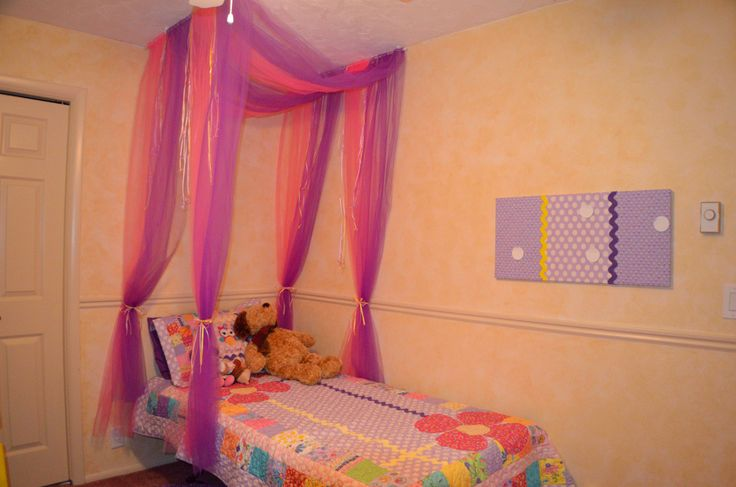 Canopy Bed For Little Girl  Home Design 2017