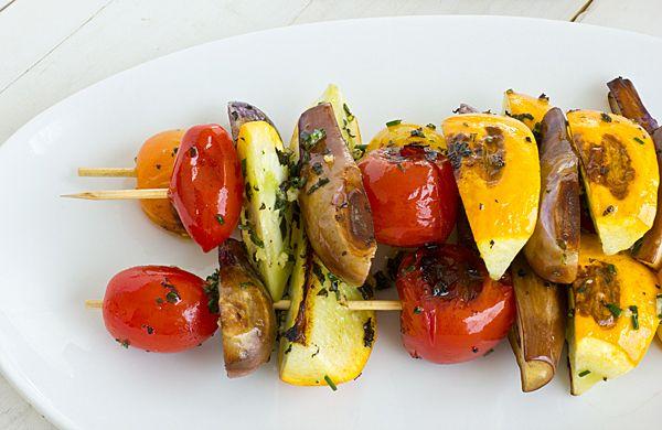 veggie stacks grilled eggplant parmesan salad grilled corn tomato ...