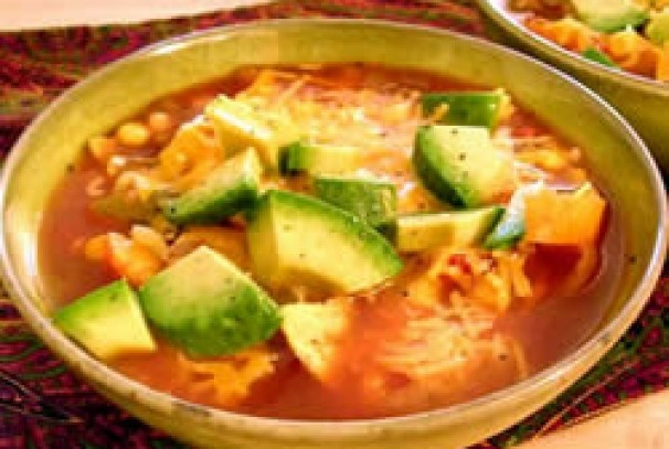 Vegetarian Tortilla Soup | For the Foodie | Pinterest