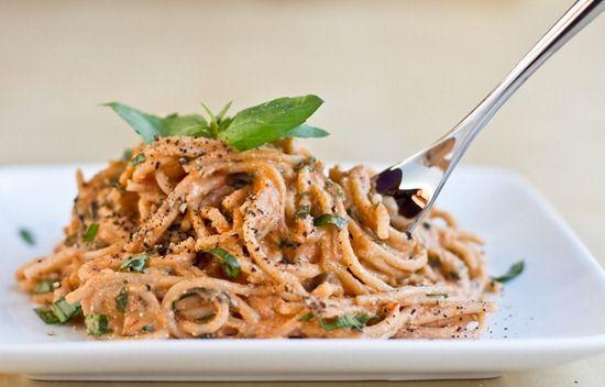Easy Tomato Basil Cream Pasta. | Ⓥ Pasta & Noodles | Pinterest