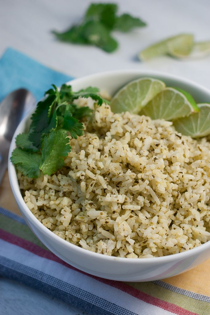 Cilantro Lime Rice Pineappleandcoconut 4 Mexican Style Cilantro Lime ...