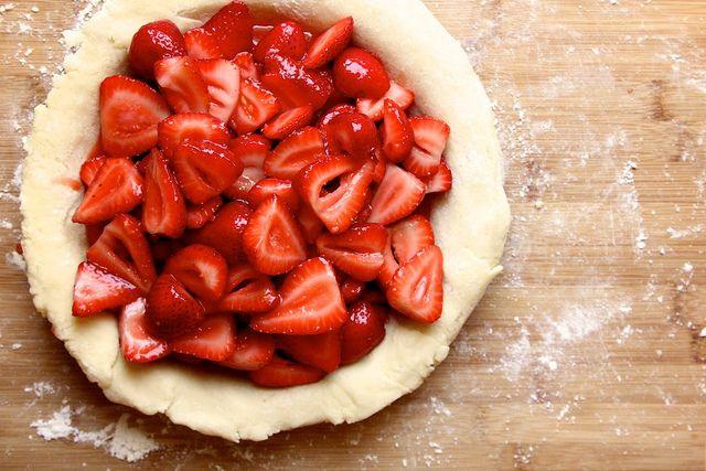 gluten-free strawberry ginger pie! by joy the baker, via Flickr