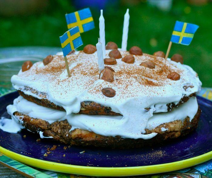 Chocolate hazelnut meringue torte | desserts | Pinterest