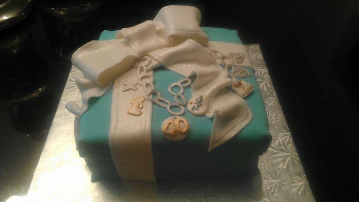 Tiffany & co charm bracelet birthday cake www.facebook.com ...