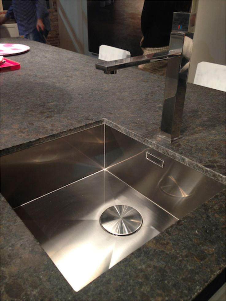 Blanco Steelart Precision R0 sink with the Quadris faucet. # ...