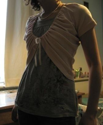 T Shirt Shrug