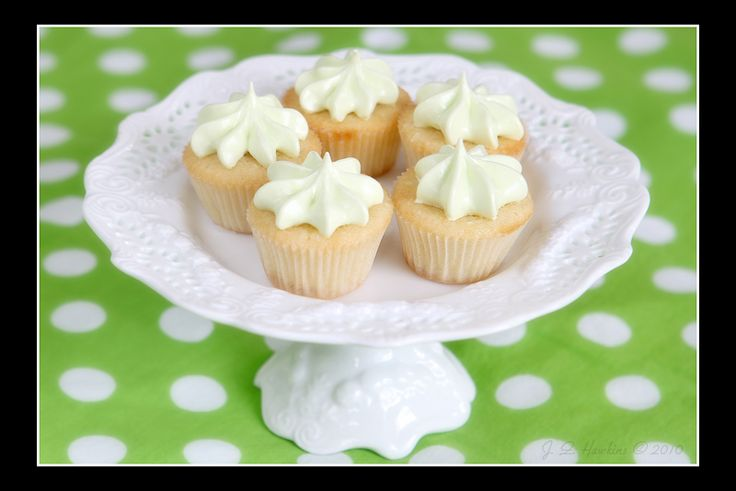 Coconut Key Lime Mini Cupcakes | Food I've Made | Pinterest