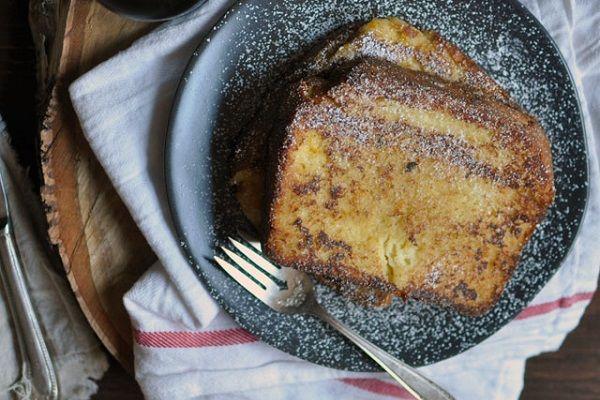 Decadent Custard Orange-Vanilla Brioche French Toast from Turntable ...