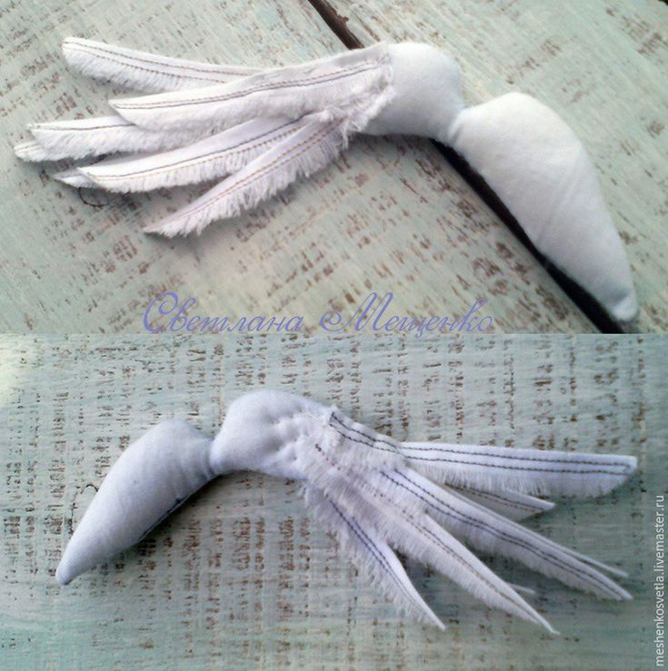 Как сделать крыло из ткани