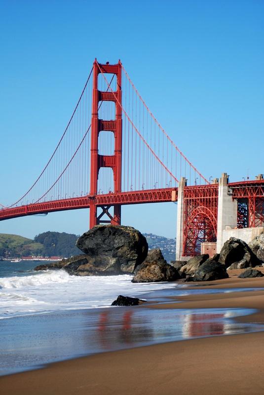 Golden Gate Bridge Sf Places Pinterest