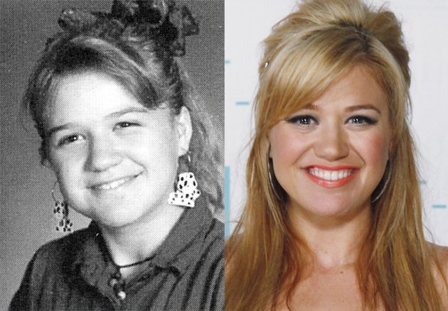 Kelly Clarkson Then And Now 2012 Teen Choice Music...
