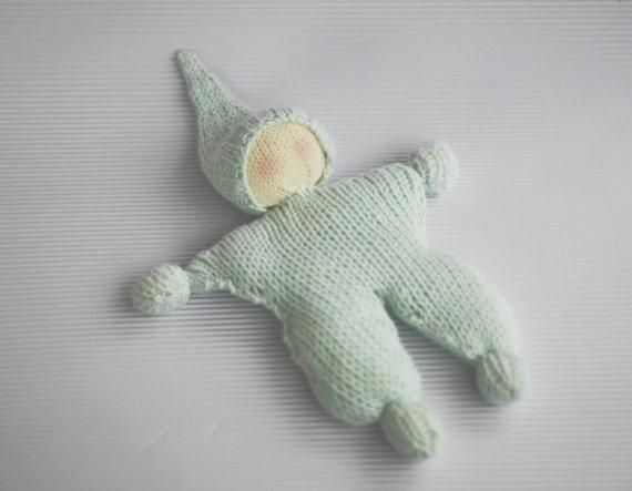 Crochet Knit Stitch Waldorf : Knitting: Waldorf knitted doll for small babies, pattern $6