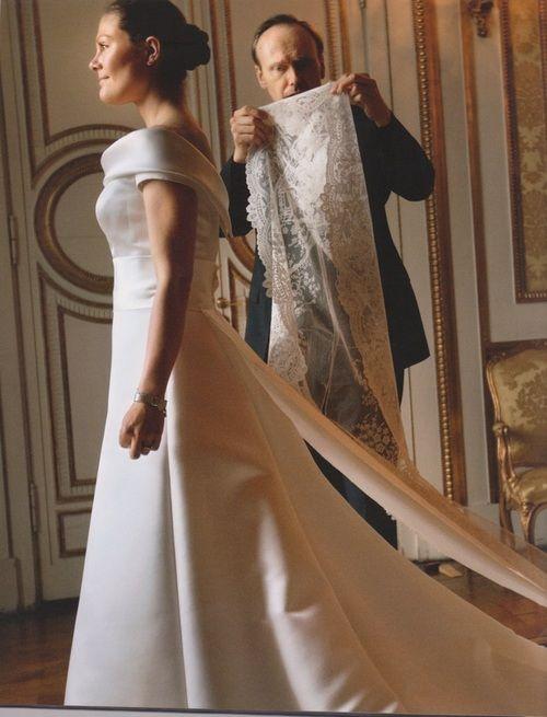 crown princess victorias wedding dress unforgettable