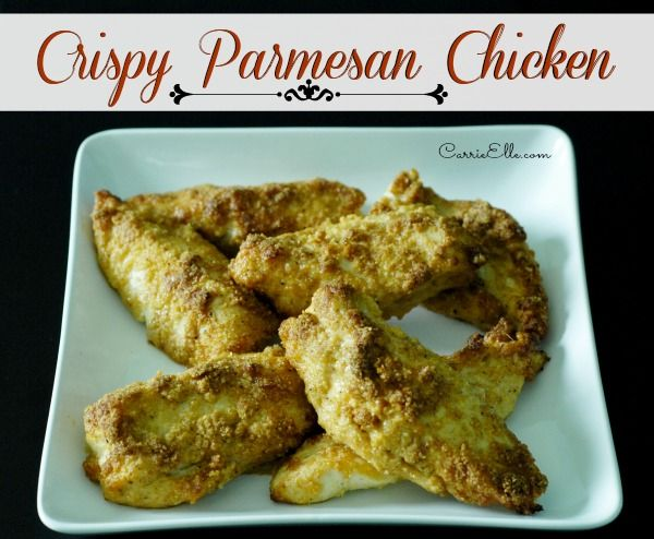 crispy parmesan chicken | Food! | Pinterest