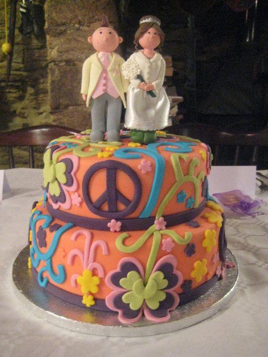 Hippys Dream Wedding Cake