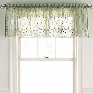 ... Embroidered Valance - jcpenney | Dream Home/Kitchen and Break