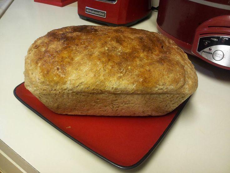 Honey whole wheat bread   Breads   Pinterest