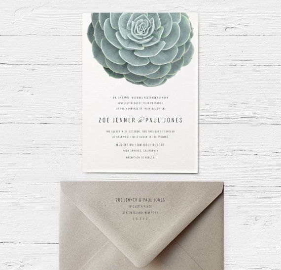 This is the shop that did my invites succulent wedding invitations