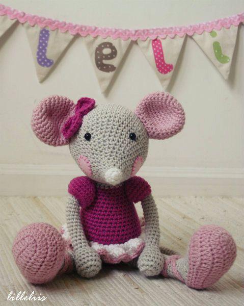 Ballerina-mouse pattern Too Cute! Pinterest