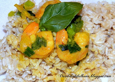 Coconut Curry Shrimp With Coconut Rice Recipes — Dishmaps