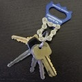 Chainbreaker keychain/bottle opener made from recycled bike parts by Resource Revival! [$7]