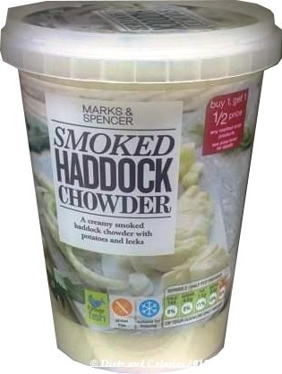 Smoked Haddock Chowder from Marks & Spencer