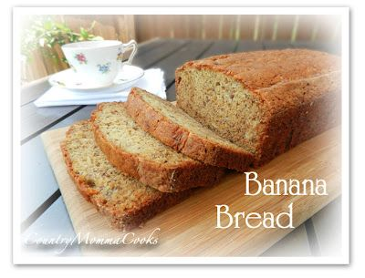 Best Banana Bread  @CountryMommaCooks