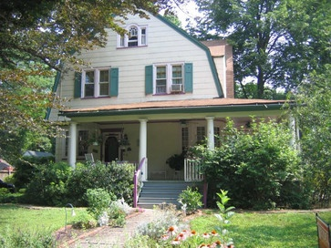 Paint Makeover Exterior Dutch Colonial Home Face Lift