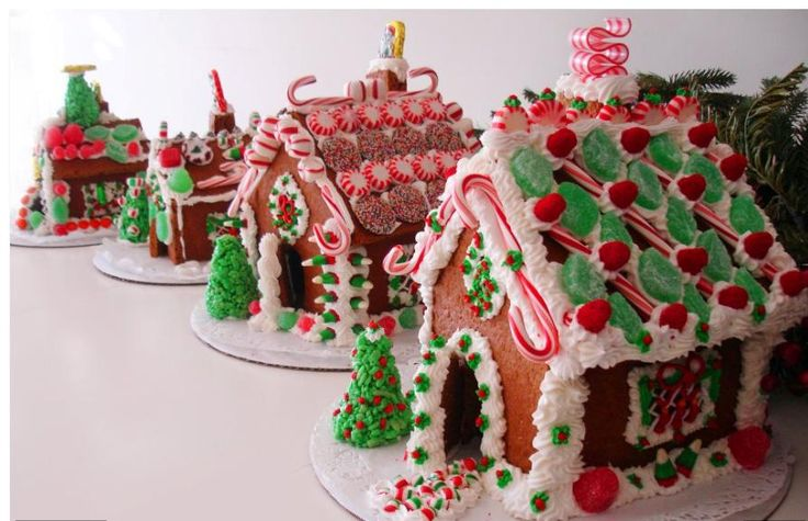 Gingerbread House Decorating Party Gingerbread Houses