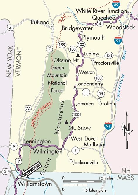 Appalachian Trail Map Vermont | afputra.com