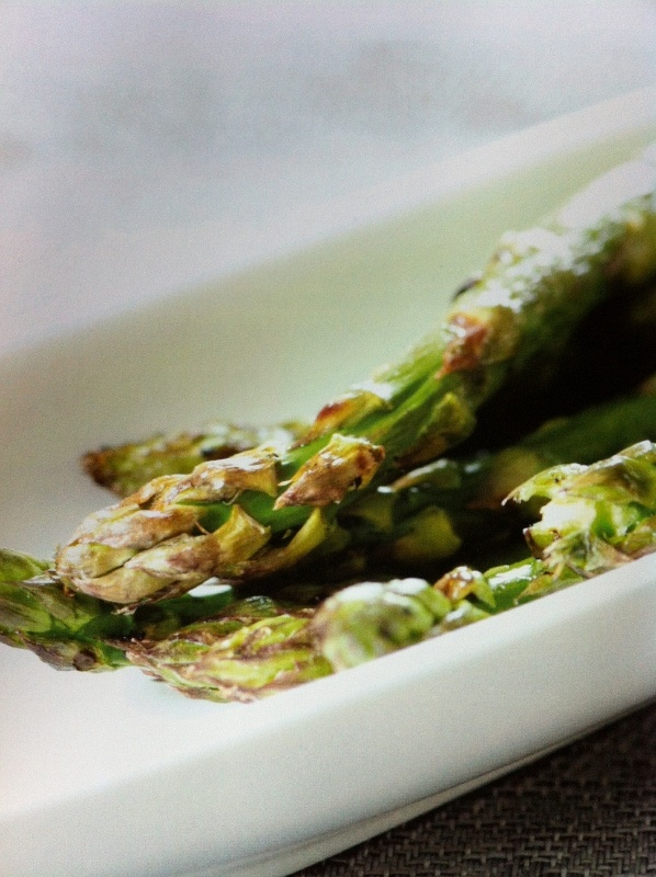 ... spring greens frittata with asparagus and scallions recipes dishmaps