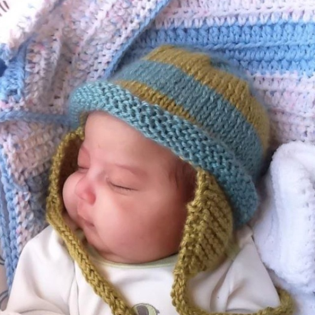 Knitting Patterns Hats With Ear Flaps Free : Ear flap hat knitting patterns Pinterest