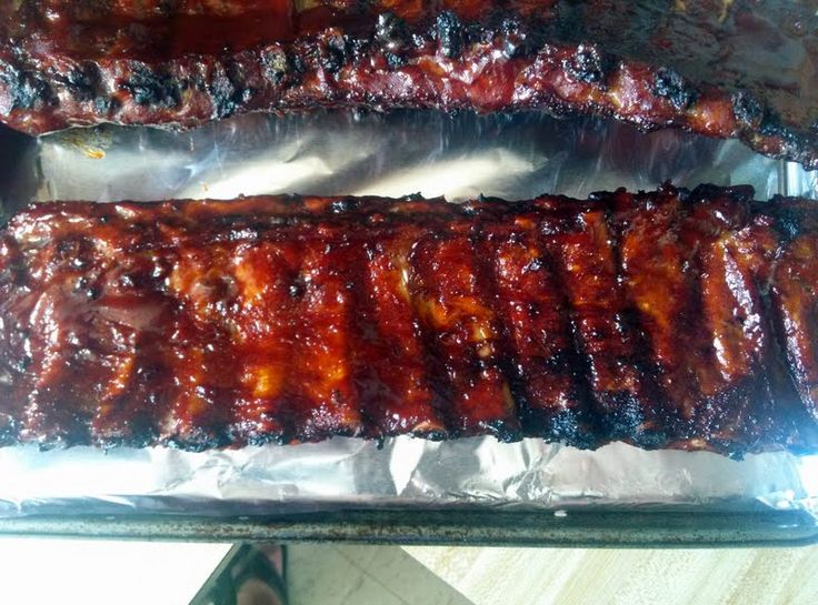 """Best-Ever Bbq Ribs - """"fall off the bone tender, finish them off on the ..."""